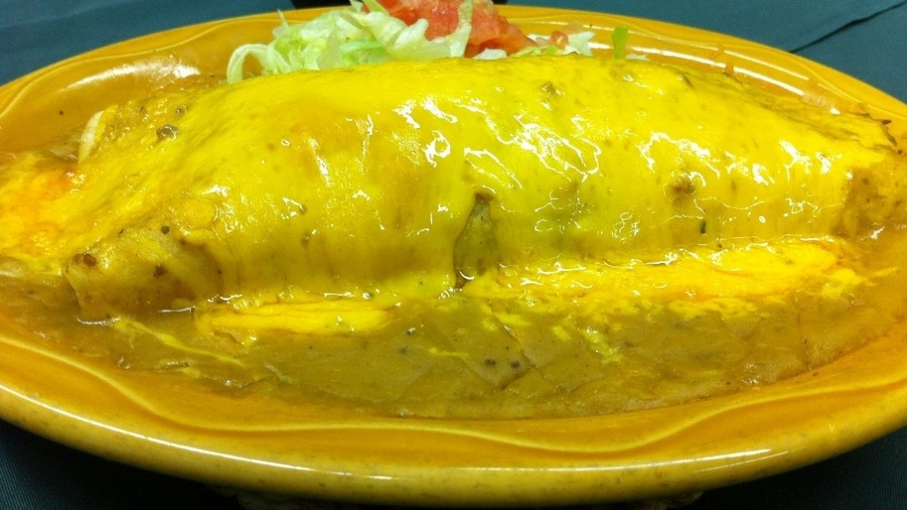 Try our house specialty –  the Quesorito!