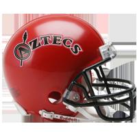 San Diego State helmet