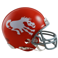 Jerry Sturm's Denver Broncos helmet