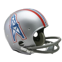 Houston Oilers helmet